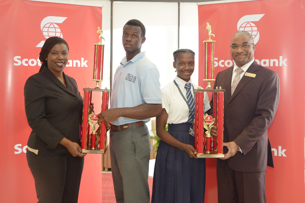 Most Outstanding Athletes with Scotiabank reps